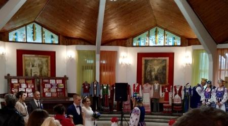 Свадьба в Крошине в День народного единства